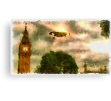 UFO - Over London by Raphael Terra Canvas Print