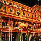 Sydney Vivid Festival 2011 - Customs House by Martyn Baker | Martyn Baker Photography