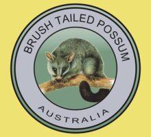 Australian brush tailed possum One Piece - Short Sleeve
