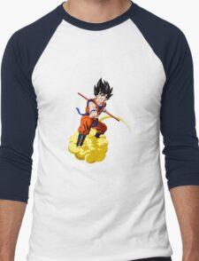 goku kakarot anime manga shirt Men's Baseball ¾ T-Shirt