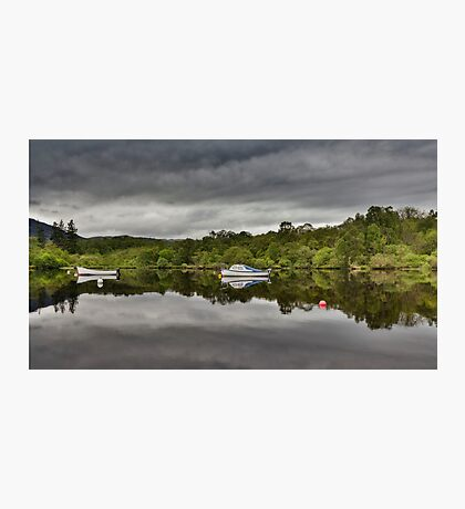 Boats of Loch Ness Photographic Print