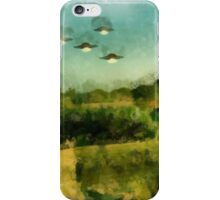 UFO - Invasion Force 2 by Raphael Terra iPhone Case/Skin