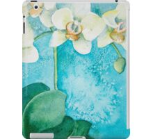 White Orchid iPad Case/Skin