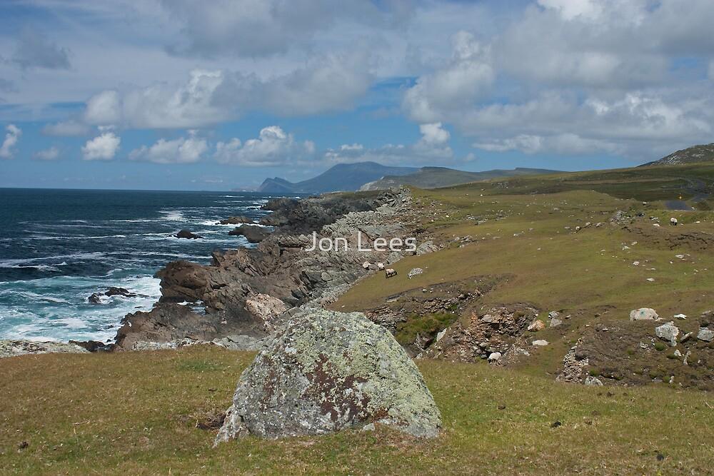 Achill Island coastline  by Jon Lees