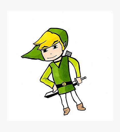 Link from Legends of Zelda - Windwaker Photographic Print