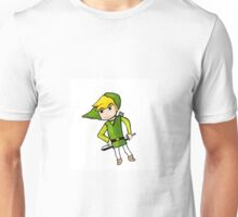Link from Legends of Zelda - Windwaker Unisex T-Shirt