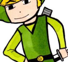 Link from Legends of Zelda - Windwaker Sticker