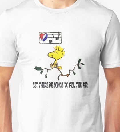 Woodstock sings Unisex T-Shirt