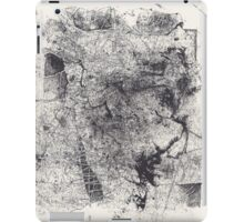 Entwined Bodies - Monotype + Ink Drawing iPad Case/Skin