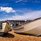 Boats at Walmer by Geoff Carpenter