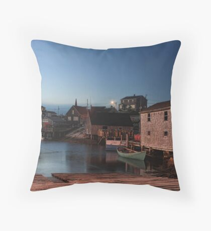 Evening Quiet at Peggy's Throw Pillow