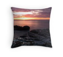 Outgoing Tide, Up Coming Sun Throw Pillow