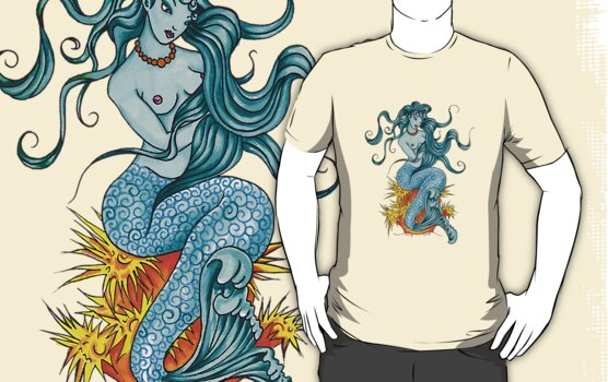 Mermaid by Angelique  Moselle