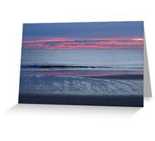 Brooms Head Sunrise. Greeting Card