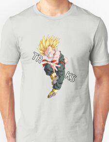 dragon ball z vegeta trunks super saiyan anime manga shirt T-Shirt