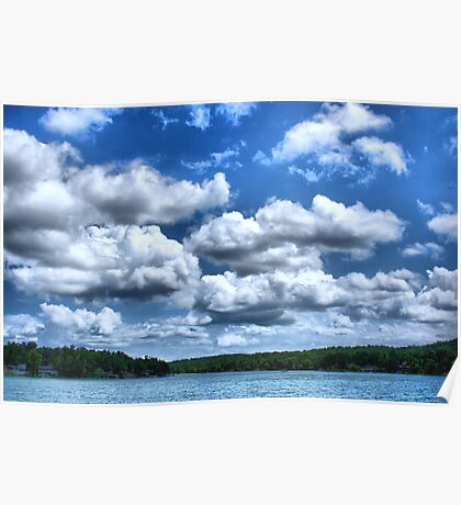 Clouds Rolling In Poster