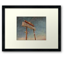 Road Runner Restaurant Framed Print