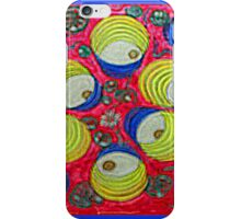 Thai Abstract Acrylic Doodle iPhone Case/Skin