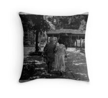 """""""the oldest and dearest of friends"""" Throw Pillow"""