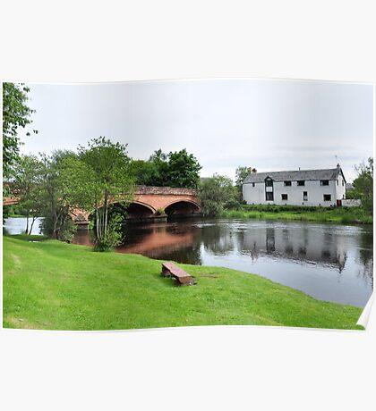 River Teith,Calander,Scotland Poster
