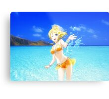 Summertime happiness with Eli Metal Print