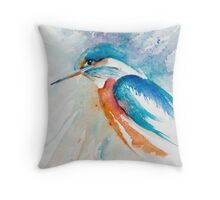 Kingfisher Throw Pillow