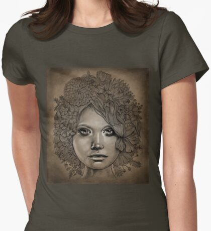 organic style Womens Fitted T-Shirt