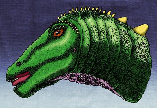 Apatosaurus louisea by Sean Craven