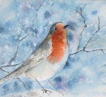 Winter Robin by Anita Murphy