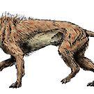Hyeanodon horridus by Sean Craven