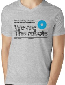We are the robots /// Mens V-Neck T-Shirt