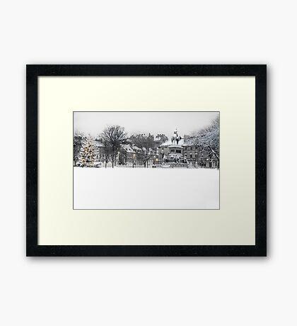 Charlotte Square III Framed Print
