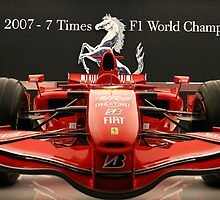 Ferrari Formula 1 Celebration by 2007bc