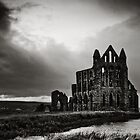 whitby abbey by Neil Messenger