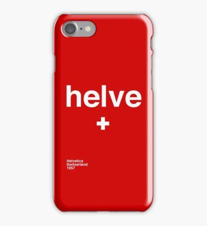 helve iPhone Case/Skin