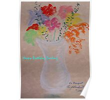 Le Bouquet Poster
