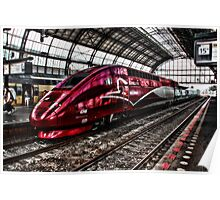 HighSpeed Thalys Amsterdam Poster