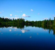 Reflection - Moosehead Lake, Maine by alinewton