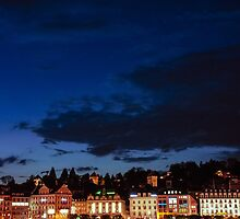 Lucerne by night by mamate