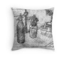 Drink Alchemy Throw Pillow