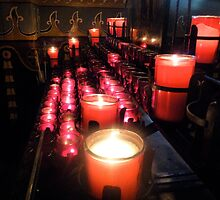 Church Candles by oxymoronic92