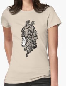 Sci-fi character  Womens Fitted T-Shirt