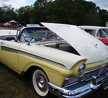 1957 Ford Fairlane 500 Sunliner by Poete100