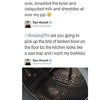 Phil smashed a cereal bowl by OhMyJo