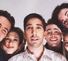 Friends Cast Selfie by swiftspick