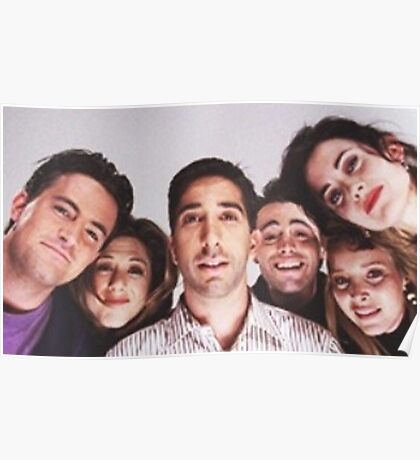 Friends Cast Selfie Poster