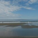 Wells Beach Pano by Judi FitzPatrick