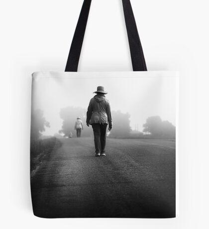 forever road Tote Bag
