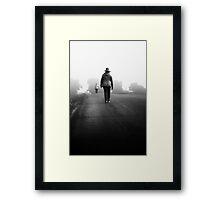 forever road Framed Print