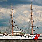 USCG Eagle (Tall Ship Panoramic) by MKWhite